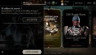 30 millions de joueurs Mortal Kombat X