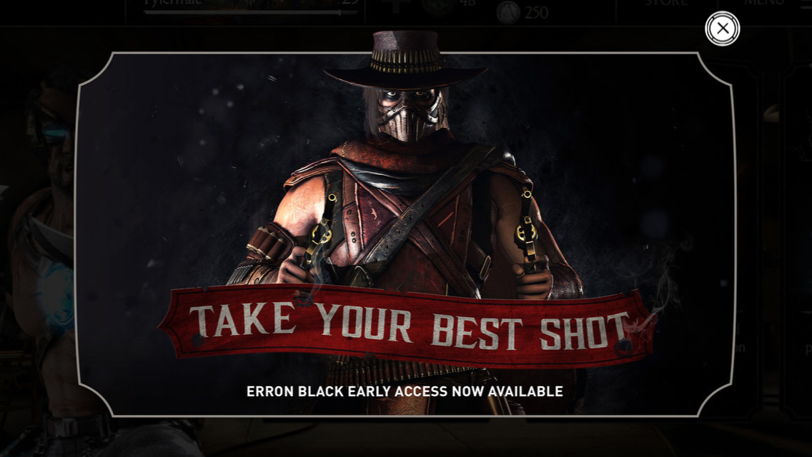 Take your best shot. Erron Black early access now available.