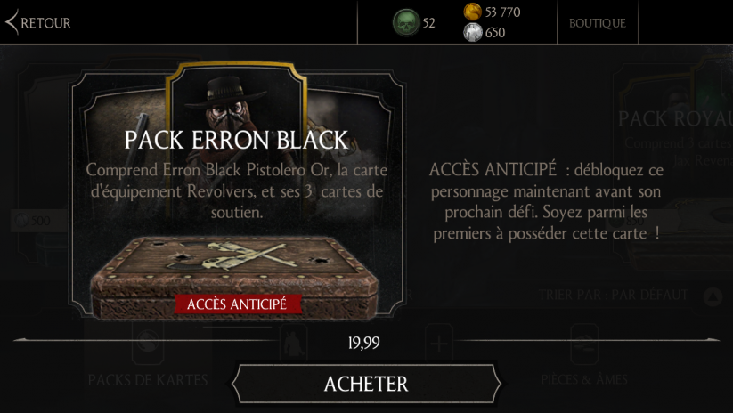 Pack Erron Black Pistolero