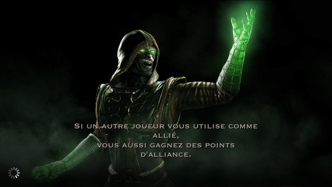 Allié et points d'alliance : Ermac