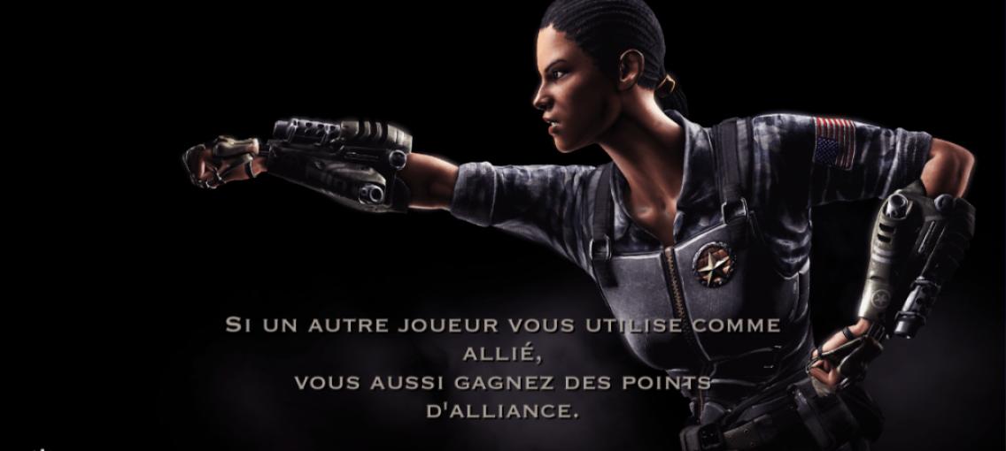 Allié et points d'alliance : Jacqui Briggs