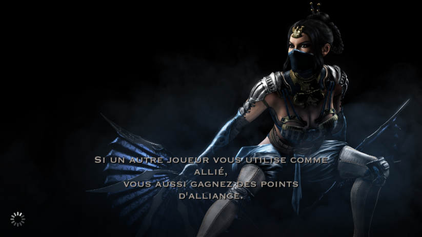 Allié et points d'alliance : Kitana