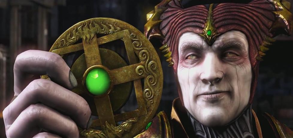 L'amulette de Shinnok dans Mortal Kombat X