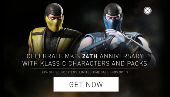 24 ans de Mortal Kombat