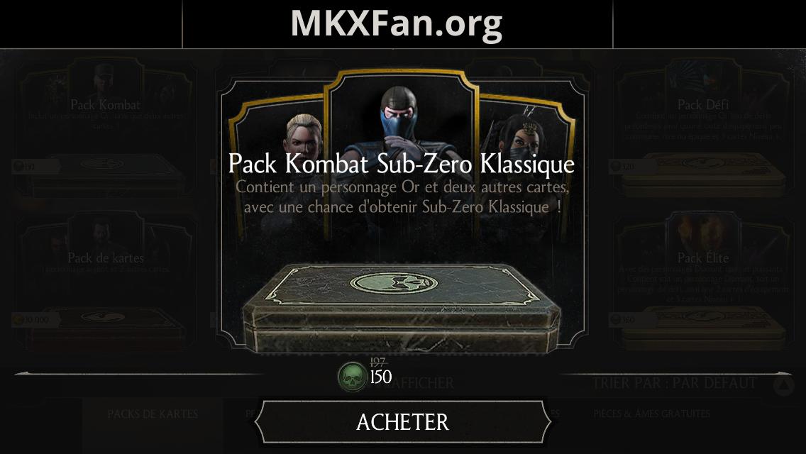 24 ans de Mortal Kombat : pack Sub-Zero Klassique en réduction