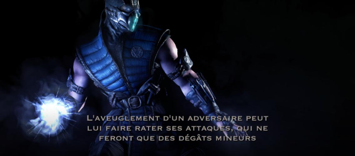 Aveuglement de l'adversaire : Sub-Zero