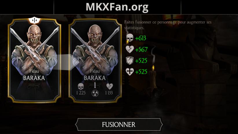 Baraka Fléau fusion 1