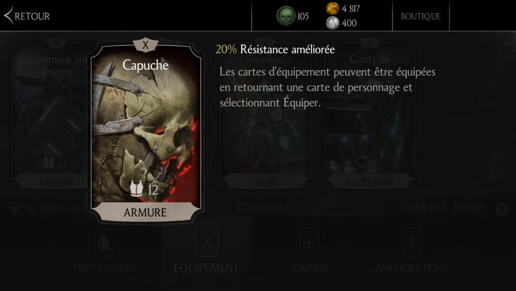 Capuche : fusion X (10)
