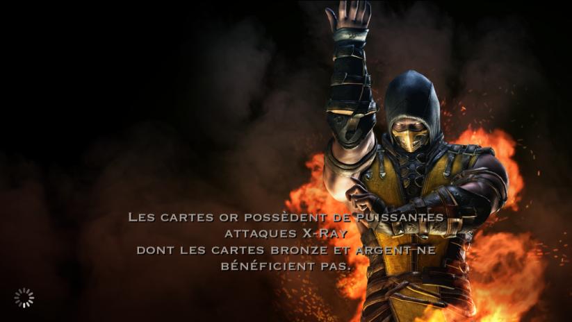 Cartes or et attaque X-Ray : Scorpion