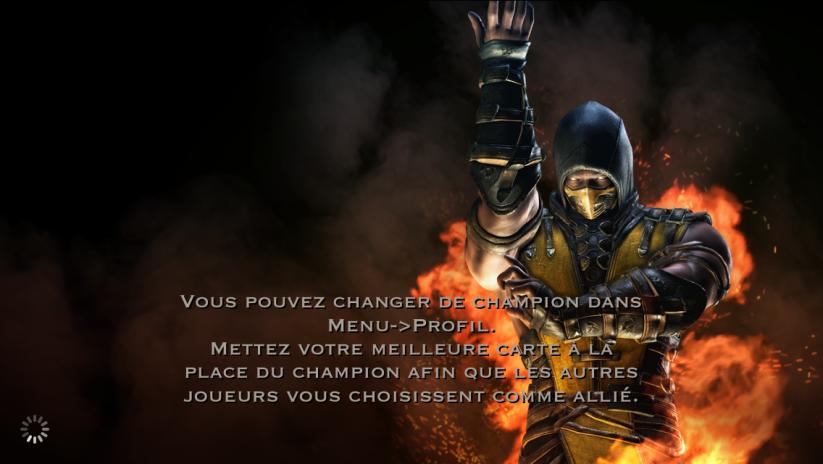 Changement de champion : Scorpion