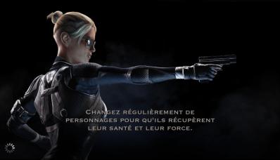 Changement de personnage et récupération : Cassie Cage