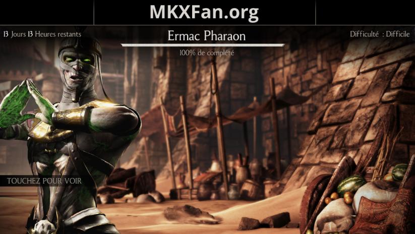 Défi Ermac Pharaon