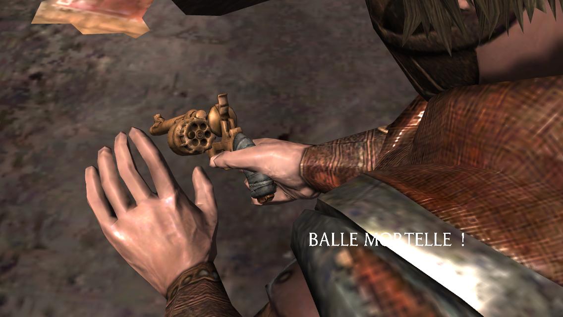 Roulette de l'Outre-Monde : balle mortelle