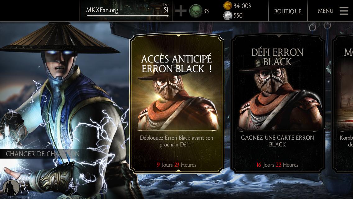 Trouver le Défi Erron Black Pistolero