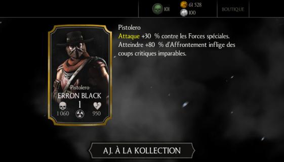 Erron Black Pistolero