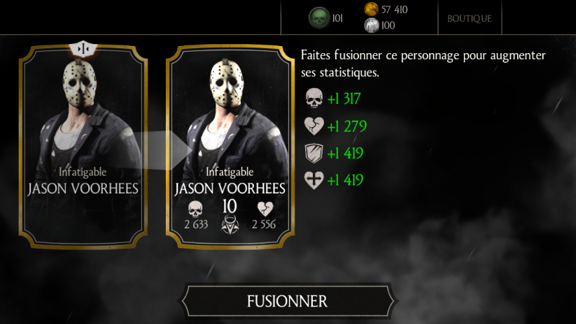 Jason Voorhees Infatigable fusion 1