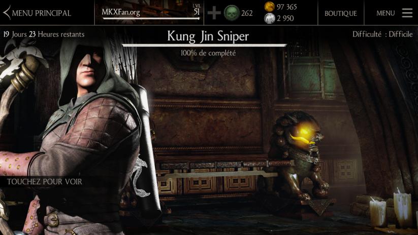 Défi Kung Jin Sniper