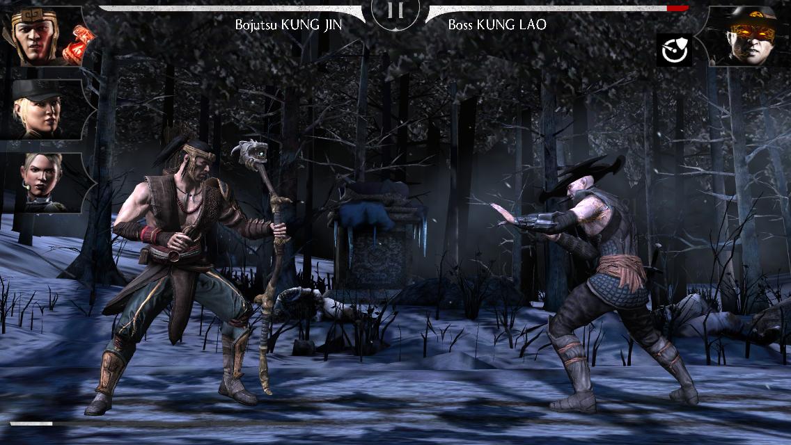 Kung Lao Revenant mode Difficile : kombat contre le boss Kung Lao