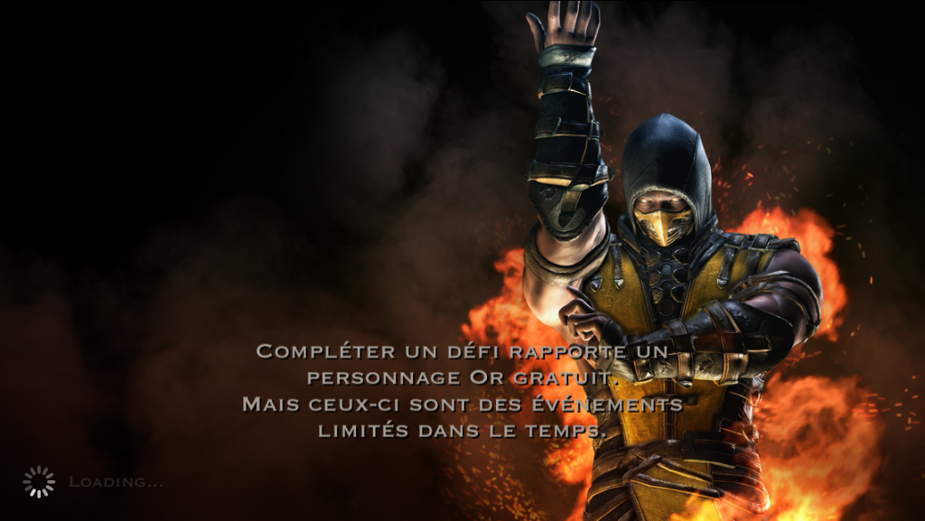 Défi or gratuit limité dans le temps : Scorpion