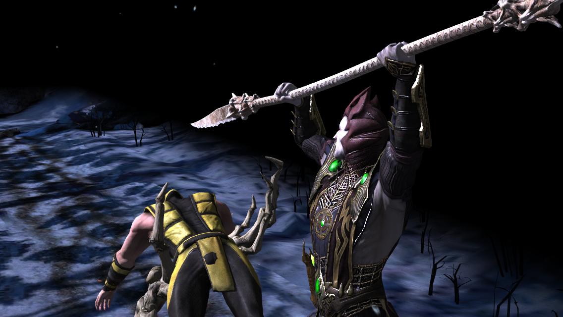 Défi Shinnok Sculpteur d'os : boss Shinnok en difficulté difficile