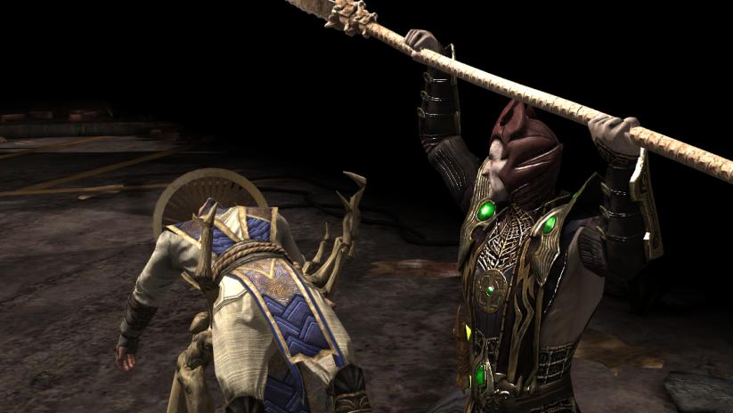 Défi Shinnok Sculpteur d'os : boss Shinnok en difficulté normale