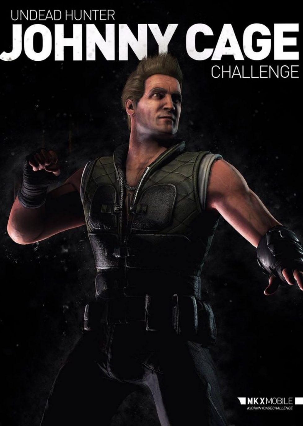 Nouveau défi : Johnny Cage Chasseur de mort-vivants