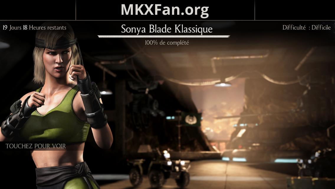 Défi Sonya Blade Klassique