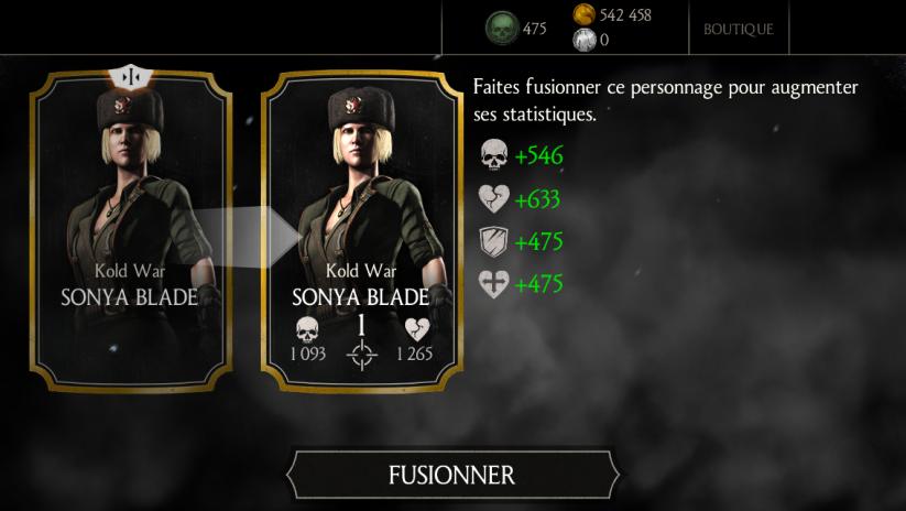 Sonya Kold war fusion 1