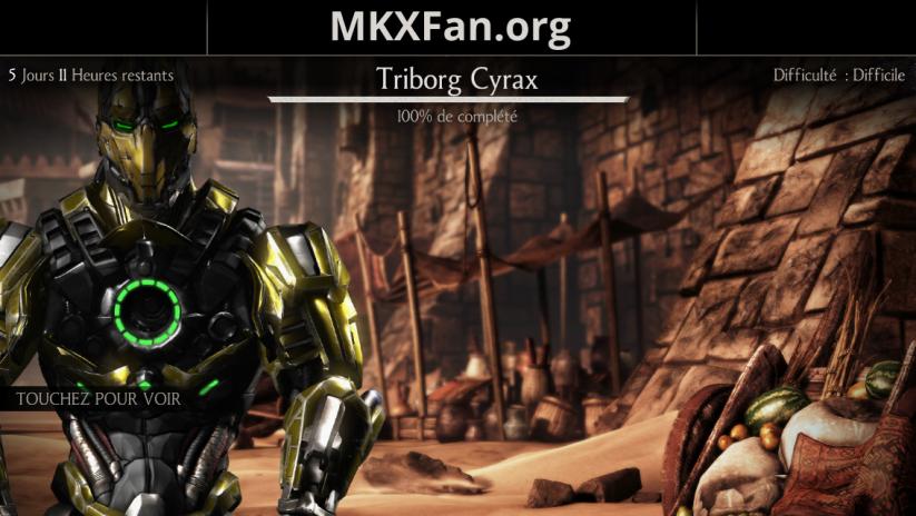 Défi Triborg Cyrax (LK-4D4)