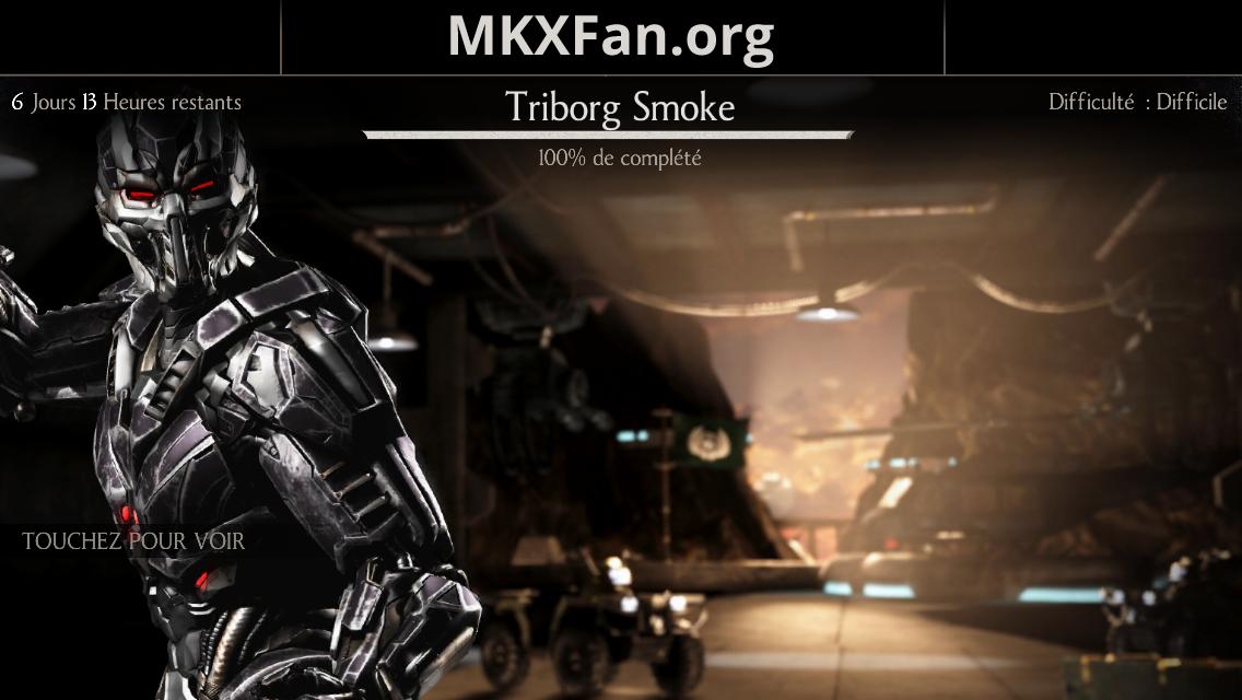 Défi Triborg Smoke (LK-7T2)