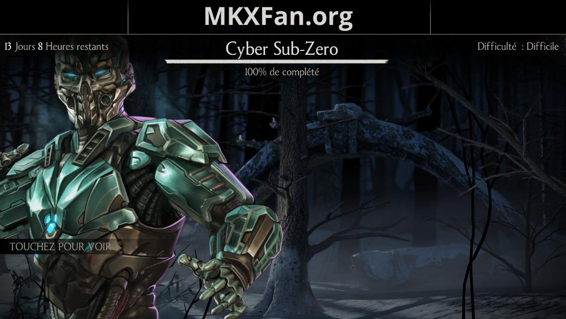 Défi Triborg Cyber Sub-Zero (LK-52O)