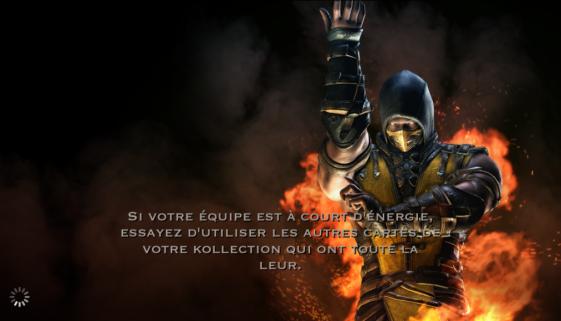 Équipe à court d'énergie : Scorpion