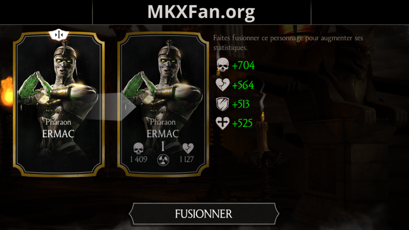 Ermac Pharaon : fusion 1