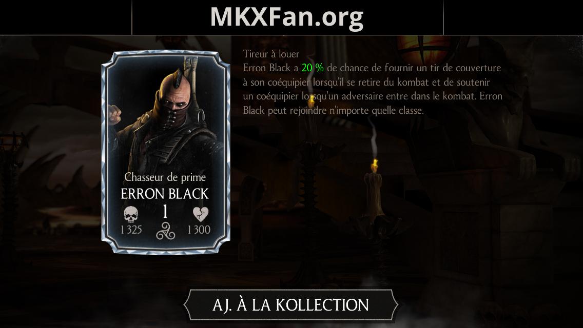 Erron Black Chasseur de prime