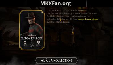 Freddy Krueger Cauchemar