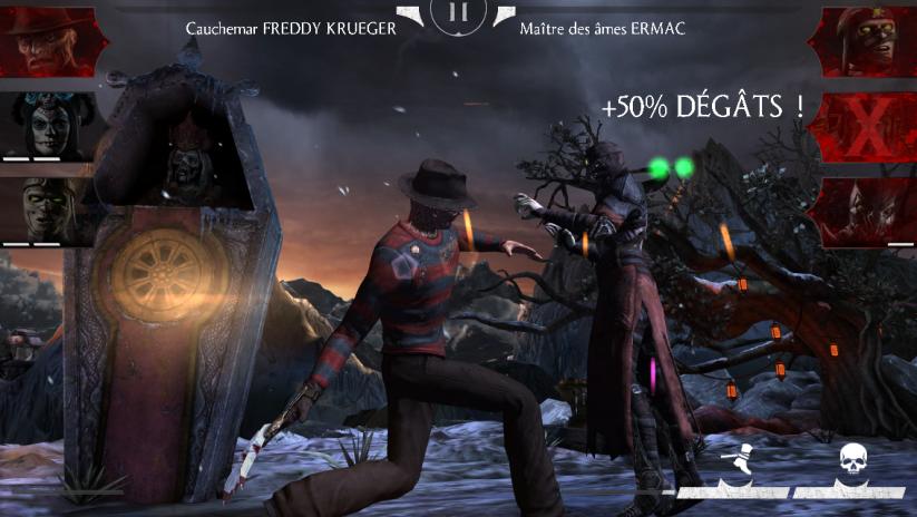 Caractéristiques de Freddy Krueger Cauchemar : adversaire dans le cauchemar