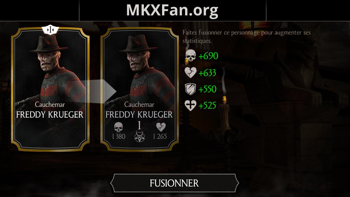 Freddy Krueger Cauchemar fusion 1