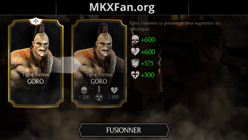 Goro Tigrar furieux fusion 1