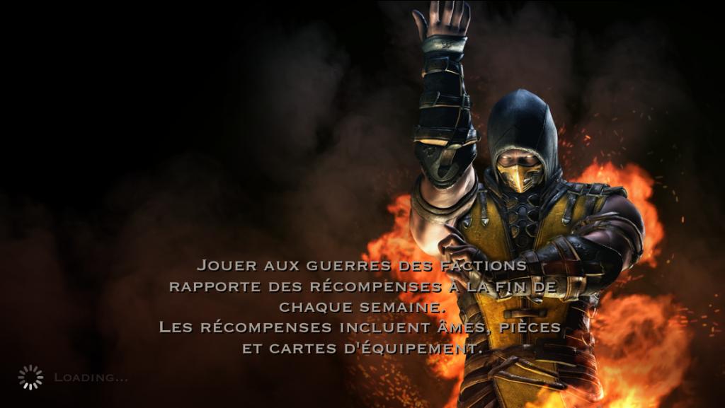 Guerres des factions et récompenses : Scorpion