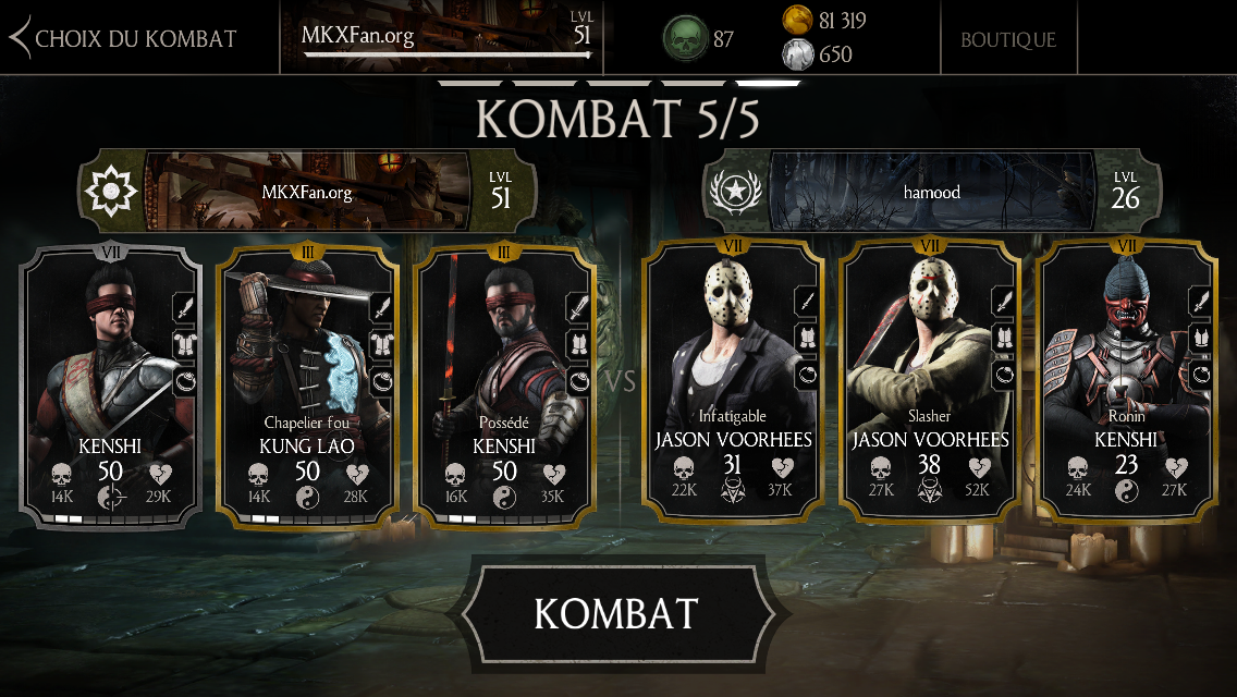 hamood, cheater MKX Mobile