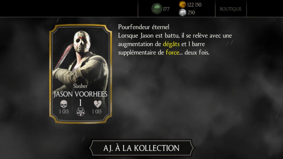 Jason Voorhees Slasher