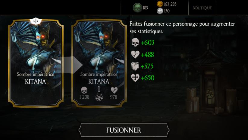 Kitana Sombre impératrice fusion 1