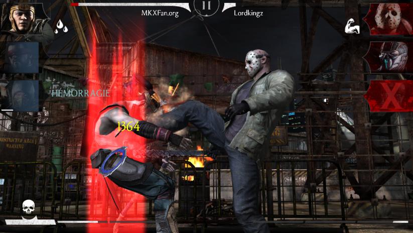Jason Voorhees Slasher : attaques spéciales avec bonus Hémorragie