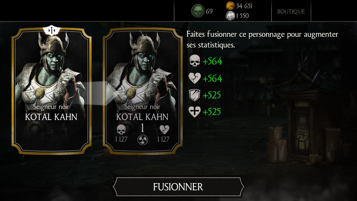 Kotal Kahn Seigneur noir fusion 1