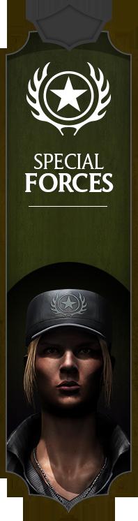 Faction Forces spéciales (Special Forces)