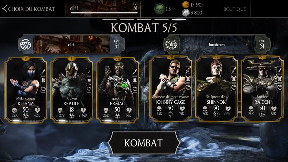 luoxichen cheater à Mortal Kombat X