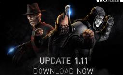 MAJ 1.11 : 3 nouveaux personnages or, Freddy Krueger Cauchemar, Scorpion Opérations spéciales et Erron Black Chasseur de primes