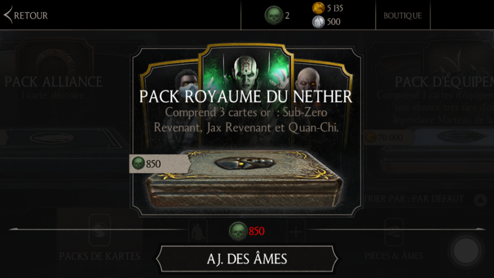 Nouveau pack Royaume du Nether (NetherRealm)