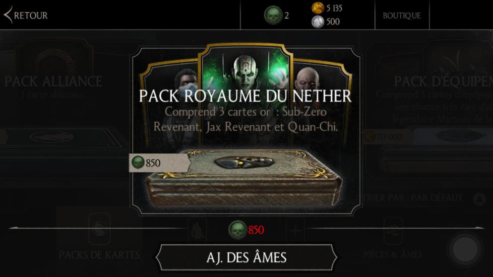Nouveau pack Royaume du Nether (NetherRealm)