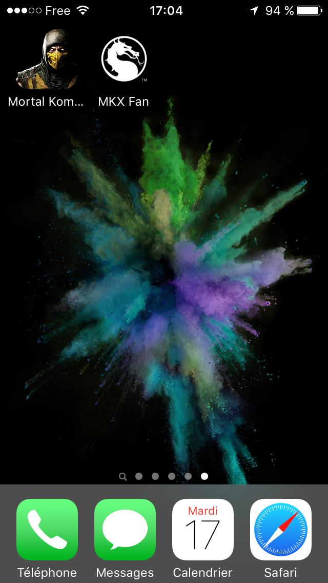 Mise à jour 1.8 de l'apps iPhone Mortal Kombat X : nouvelle icône